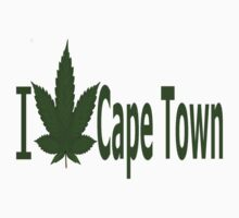 0081 I Love Cape Town  by Ganjastan