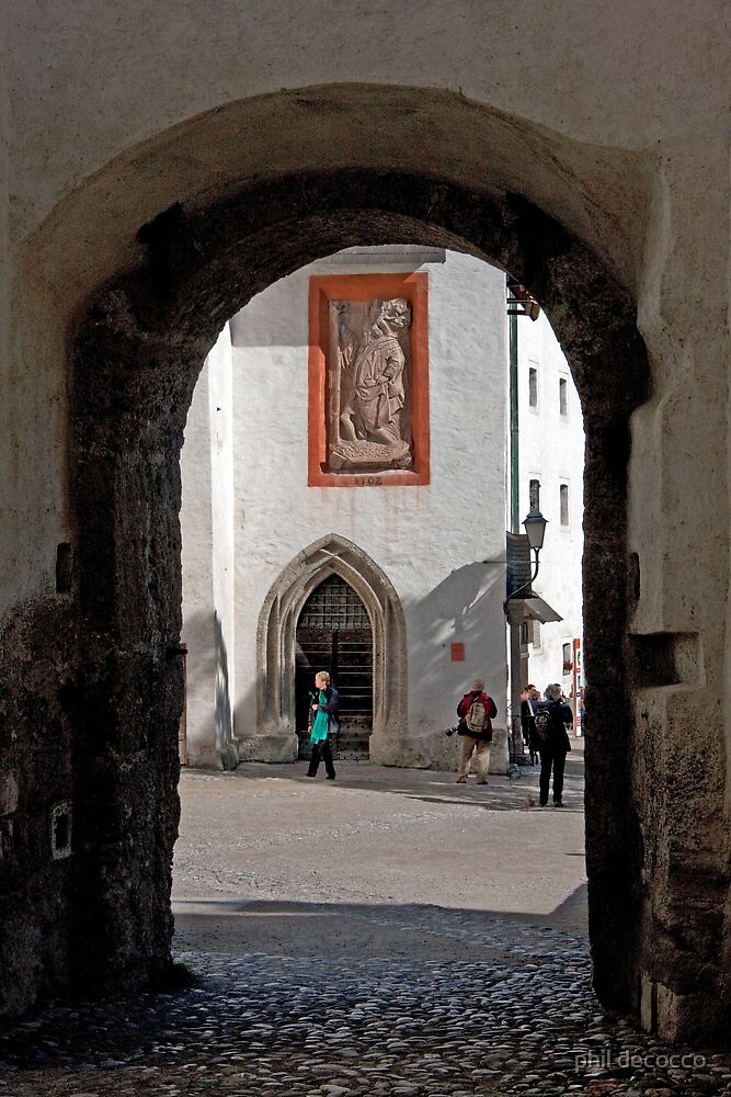 Archway To St. George's Chapel by phil decocco