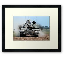 Challenger 2 Main Battle Tank (MBT) British Army Framed Print