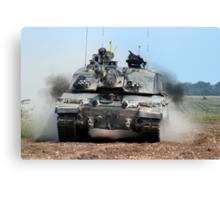 Challenger 2 Main Battle Tank (MBT) British Army Canvas Print