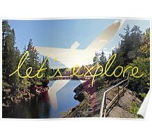 Let's Explore: Vuoksi Midday Poster