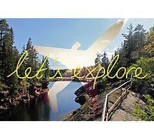 Let's Explore: Vuoksi Midday Photographic Print