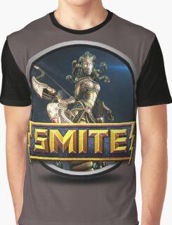 Smite Medusa Logo Graphic T-Shirt