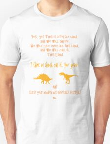 curse your sudden but inevitable betrayal, firefly, orange T-Shirt