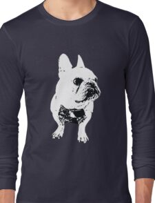 GEORGE the Korean-American French Bulldog Long Sleeve T-Shirt
