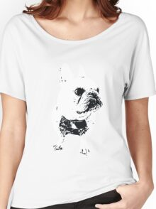 GEORGE the Korean-American French Bulldog Women's Relaxed Fit T-Shirt