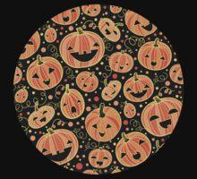 Fun Halloween pumpkins pattern Kids Clothes