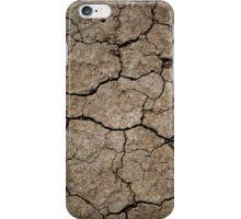 Cracked Dried Mud iPhone Case/Skin