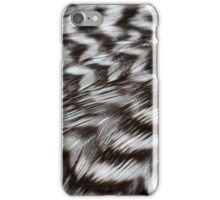 Black and White Feathers in Detail iPhone Case/Skin
