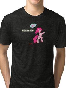 Pinkie Pie Gets Zombie-fied Tri-blend T-Shirt
