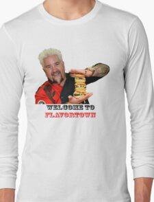 Guy Fieri Sliders Long Sleeve T-Shirt