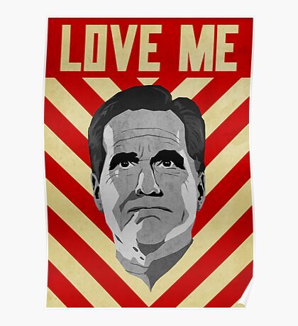 Love Me Romney Poster