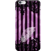 Purple Umbrella iPhone Case/Skin