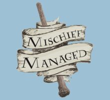 Mischief Managed Kids Clothes
