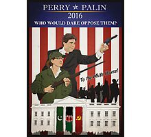 Perry/Palin 2016 Photographic Print