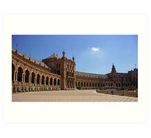Sevilla Plaza de Espana Art Print