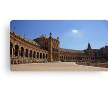 Sevilla Plaza de Espana Canvas Print