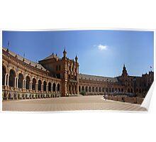 Sevilla Plaza de Espana Poster