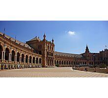 Sevilla Plaza de Espana Photographic Print