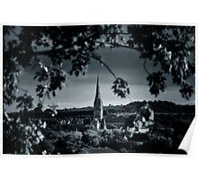 Salisbury Cathedral from afar Poster