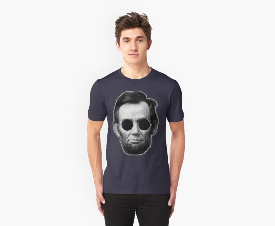 Abe Lincoln and Cheap Sunglasses by David Ayala