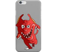 Angry Little Monster!!! iPhone Case/Skin