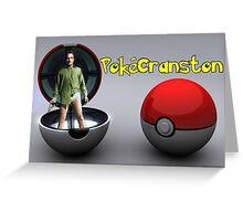 PokéCranston Greeting Card