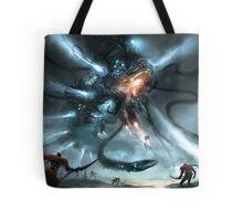 Mech Dragon Battle Tote Bag
