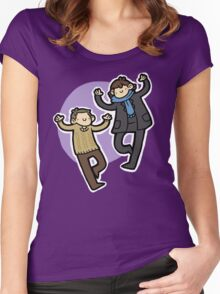Doodle Detectives Women's Fitted Scoop T-Shirt