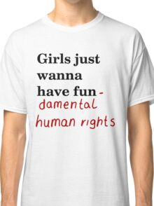 Fundamental human rights Classic T-Shirt