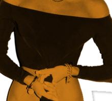 Miley Cyrus - Orange Version Sticker
