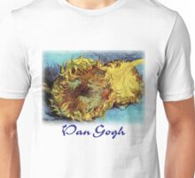 Vincent Van Gogh - Cut Sunflowers Unisex T-Shirt