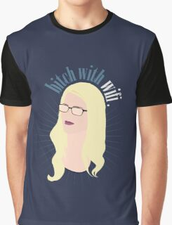 Bitch with Wi-Fi Graphic T-Shirt