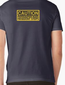 Caution, photographer on duty Mens V-Neck T-Shirt