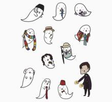Doctor Boo Sticker Set by Night-Valien