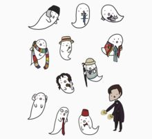 Doctor Boo Sticker Set by Night-Valien