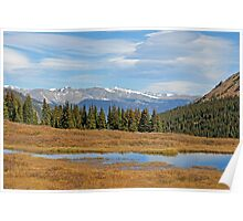 James Peak Wilderness from Guanella Pass  Poster