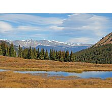James Peak Wilderness from Guanella Pass  Photographic Print
