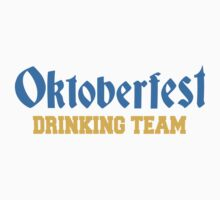 Oktoberfest Drinking Team Design by Style-O-Mat