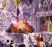 Joan of Arc Burns by BrianJoseph