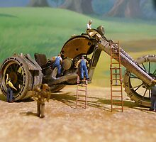 Diorama5 : Watch Parts Motorcycles by OfficialWPM
