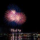Docklands Fireworks  by LadyFran