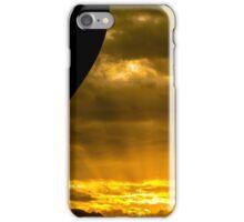 Golden Sky Balloon Drive iPhone Case/Skin