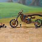 Diorama11 : Watch Parts Motorcycles by OfficialWPM
