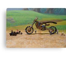 Diorama11 : Watch Parts Motorcycles Canvas Print