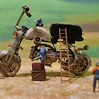 Diorama12 : Watch Parts Motorcycles by OfficialWPM