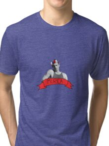 captain 'murica Tri-blend T-Shirt