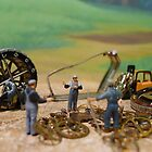 Diorama15 : Watch Parts Motorcycles by OfficialWPM