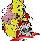 Zombie Pooh by Skree