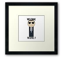 Coulson Lives Framed Print